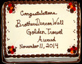 20141111 Golden Trowel