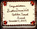 20141111 Golden Trowel